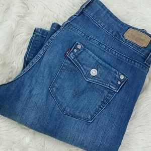 Levis Bootcut 526 Slender Boot Stretch Jean Size 4